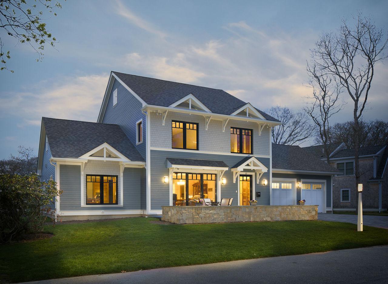 Pasivny dom Falmouth, Rhode Island, Massachusetts